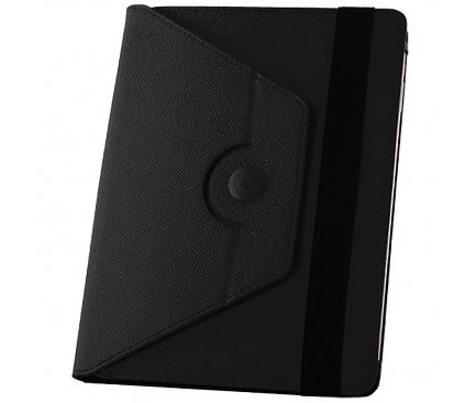 Husa Piele GreenGo Orbi 360 pentru Tableta 10 inci, Neagra, Bulk