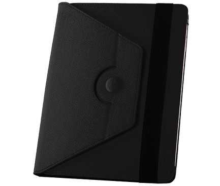 Husa Piele GreenGo Orbi 360 pentru Tableta 8 inci, Neagra, Bulk