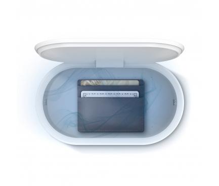 Sterilizator UV-C UNIQ LYFRO Capsule All in One, Functie Odorizant, Alb, Blister