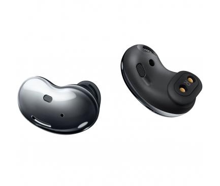 Handsfree Casti Bluetooth Samsung Galaxy Buds Live, SinglePoint, Negru (Mystic Black) SM-R180NZKAEUE