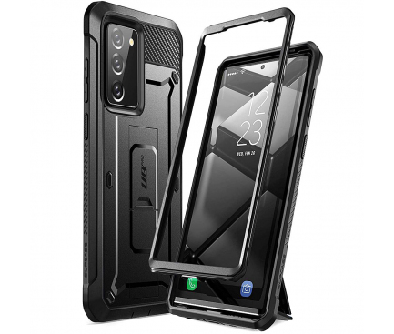 Husa Plastic - TPU Supcase Unicorn Beetle pentru Samsung Galaxy Note 20 N980 / Samsung Galaxy Note 20 5G N981, Neagra, Blister