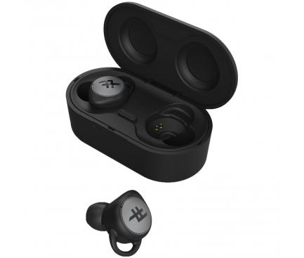 Handsfree Casti Bluetooth iFrogz AirTime, TWS, Negru, Blister 304003567