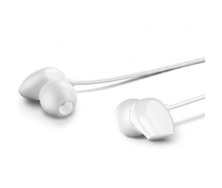 Handsfree Casti In-Ear Usams EP-28, US-SJ265, Cu microfon, 3.5 mm, Alb, Blister HSEP2802
