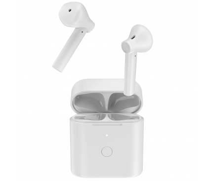 Handsfree Casti Bluetooth QCY T7, Alb, Blister