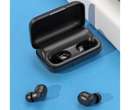 Handsfree Casti Bluetooth Haylou T15, Negru, Blister