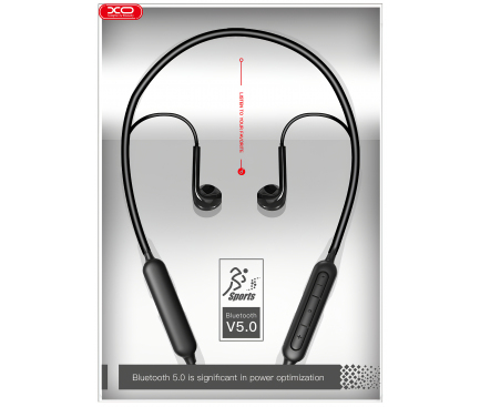 Handsfree Casti Bluetooth XO Design BS16, Negru, Blister