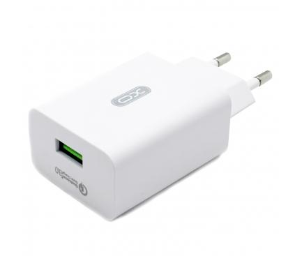 Incarcator Retea cu cablu Lightning XO Design L36, 1 X USB, Alb, Blister
