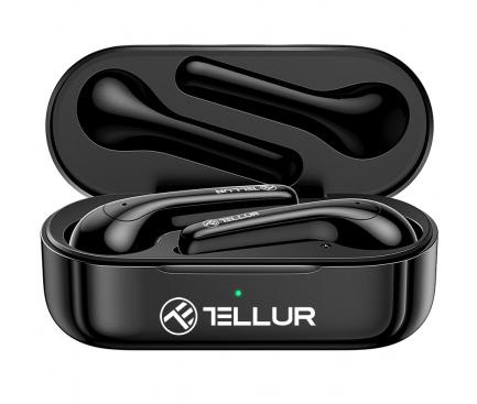 Handsfree Casti Bluetooth Tellur Ambia, SinglePoint, Negru, Blister TLL511361