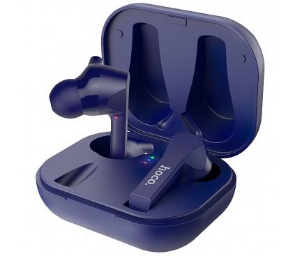 Handsfree Casti Bluetooth HOCO ES34 Pleasure TWS, SinglePoint, Albastru, Blister