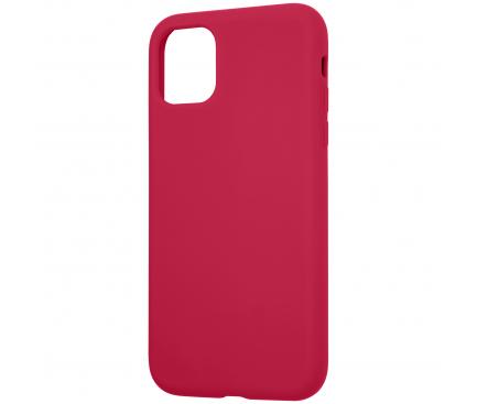 Husa TPU Tactical Velvet Smoothie pentru Apple iPhone 11 Pro, Sangria, Rosie, Blister