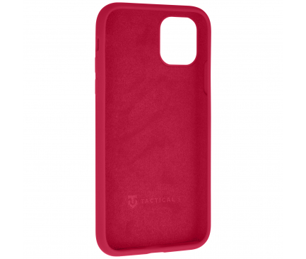 Husa TPU Tactical Velvet Smoothie pentru Apple iPhone X / Apple iPhone XS, Sangria, Rosie, Blister