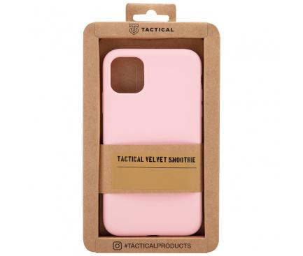 Husa TPU Tactical Velvet Smoothie pentru Apple iPhone X / Apple iPhone XS, Panther, Roz, Blister