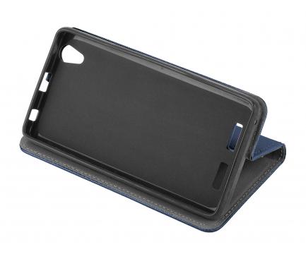 Husa Piele OEM Smart Magnet pentru Xiaomi Redmi 9C, Bleumarin, Bulk