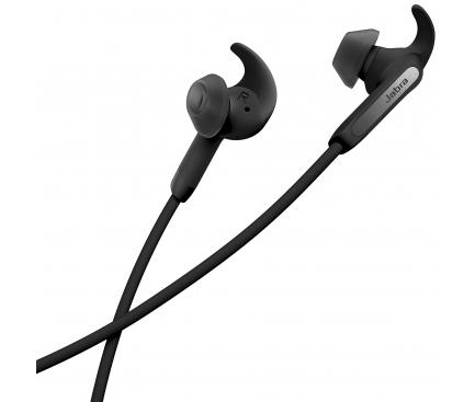 Handsfree Casti Bluetooth Jabra Elite 45e, In-ear, Neck-band, MultiPoint, Negru
