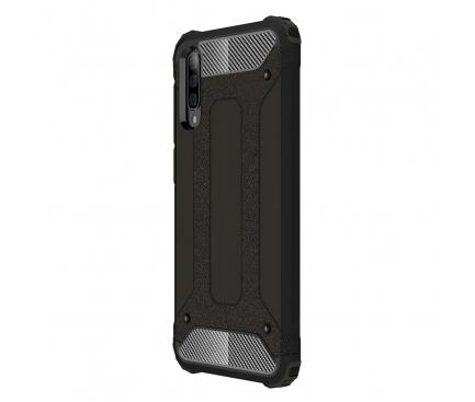 Husa Plastic - TPU OEM Tough Armor pentru Huawei P Smart S / Huawei Y8p, Neagra, Bulk