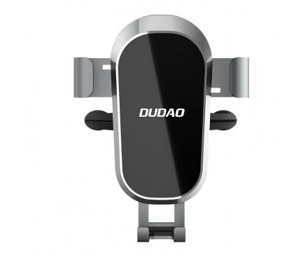 Suport Auto Universal Dudao F2 Pro, Gravity Air Vent, Negru, Blister