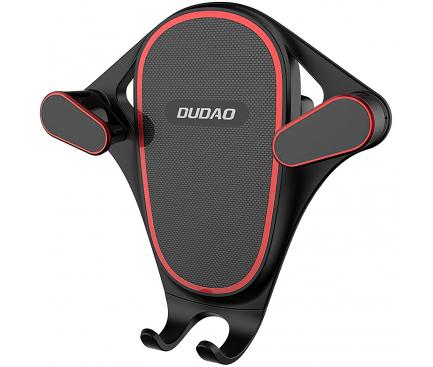 Suport Auto Universal Dudao F5S, Gravity Air Vent, Negru, Blister