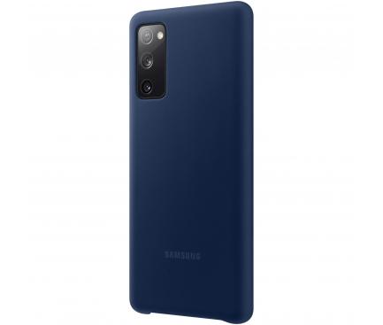 Husa TPU Samsung Galaxy S20 FE G780, Bleumarin, Blister EF-PG780TNEGEU