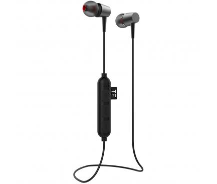Casti Bluetooth Yookie K334, Negre, Blister