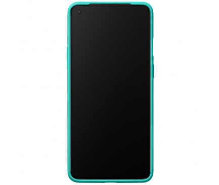Husa Plastic OnePlus 8T, Sandstone, Bleu, Blister 5431100177