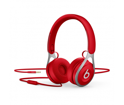 Handsfree Casti On-Ear Apple Beats EP, Cu microfon, 3.5 mm, Rosu, Blister ML9C2EE/A