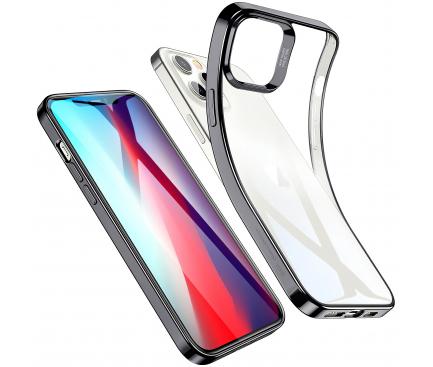 Husa TPU ESR Halo pentru Apple iPhone 12 / Apple iPhone 12 Pro, Neagra, Blister