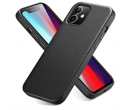 Husa Piele ESR METRO PREMIUM pentru Apple iPhone 12 mini, Neagra, Blister