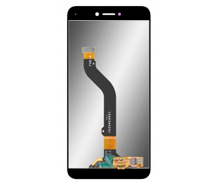Display - Touchscreen Huawei P8 Lite (2017) / Huawei P9 Lite (2017), Negru, Reconditionat