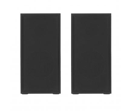 Boxa Cu Cablu Tellur Basic 2.0, 6W, Lemn, USB (Pentru PC), Stereo, Neagra TLL491041