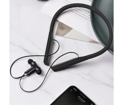 Casti Bluetooth HOCO ES33 Mirth Sports, Negre