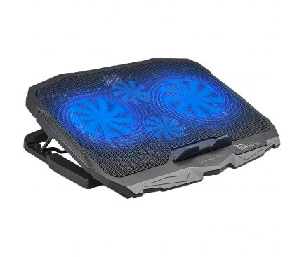 Cooling Pad Laptop OEM White Shark CP-25 ICE WARIOR, 17.3