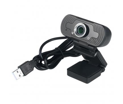 Camera Web Tellur Full HD, 2MP, Autofocus, Microfon, Neagra, Blister TLL491131