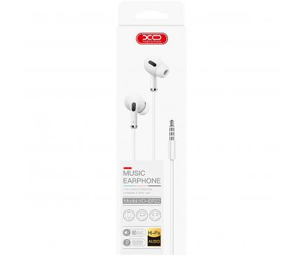 Handsfree Casti In-Ear XO Design EP22, Cu microfon, 3.5 mm, Negru, Blister