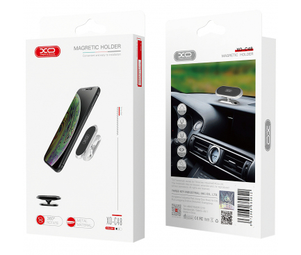 Suport Auto Magnetic XO Design C48, Negru, Blister