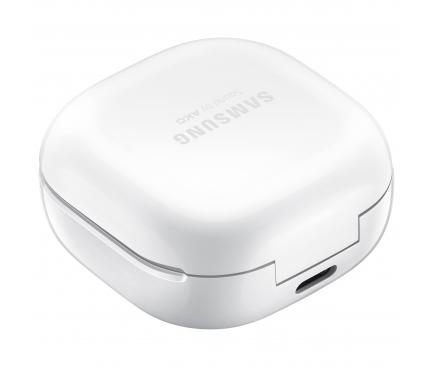 Handsfree Casti Bluetooth Samsung Galaxy Buds Live, SinglePoint, Alb (Mystic White), Resigilat, Blister SM-R180NZW