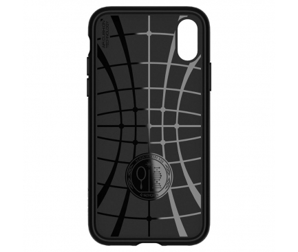 Husa TPU Spigen Core Armor pentru Apple iPhone X / Apple iPhone XS, Neagra, Blister 063CS24941