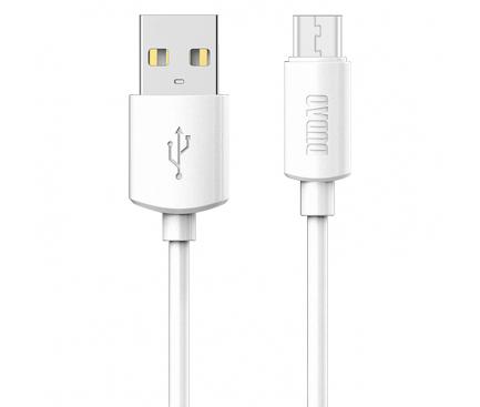 Cablu Date si Incarcare USB la USB Type-C Dudao, 1 m, Alb, Bulk