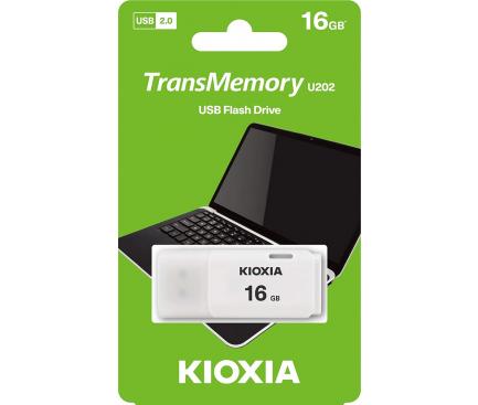 Memorie Externa KIOXIA U202, 16Gb, USB 2.0, Alba LU202W016GG4