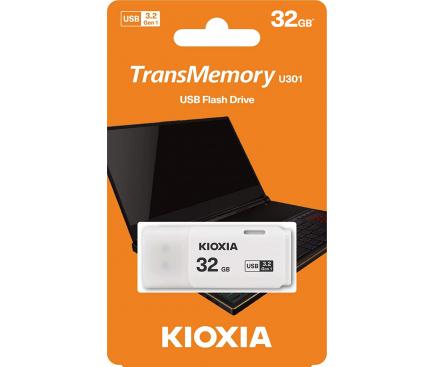 Memorie Externa KIOXIA U301, 32Gb, USB 3.2, Alba LU301W032GG4