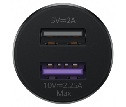 Incarcator Auto USB Huawei CP36, 2 X USB, Negru, Blister 55032780