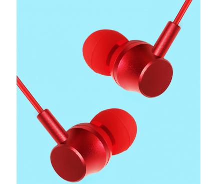Casti Bluetooth Lenovo QE03, Bluetooth 5.0, Neckband, Rosie