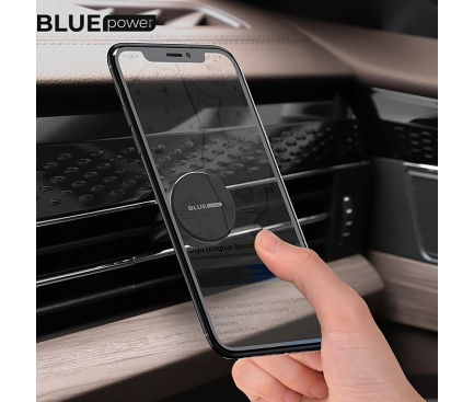 Suport Auto Magnetic BLUE Power BBH6, Air Outlet, Negru, Blister