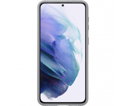 Husa Plastic Samsung Galaxy S21+ 5G, Protective Standing Cover, Gri, Blister EF-RG996CJEGWW