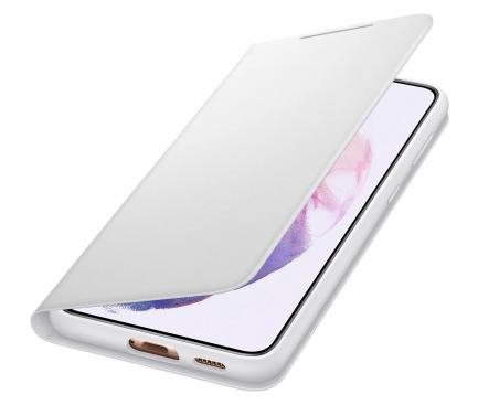Husa Samsung Galaxy S21+ 5G, LED View Cover, Gri EF-NG996PJEGEE