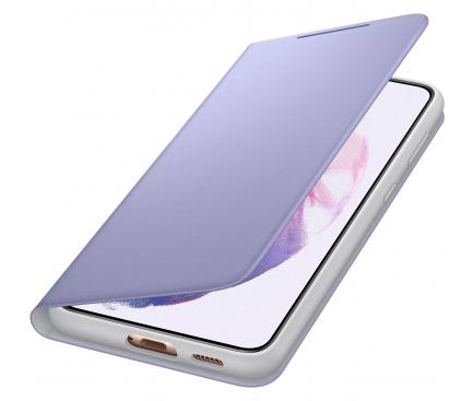 Husa Samsung Galaxy S21+ 5G, LED View Cover, Violet EF-NG996PVEGEE
