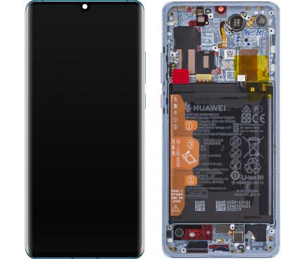 reparatii telefoane giurgiu - display+sasiu+baterie+capac baterie Huawei P30 Pro