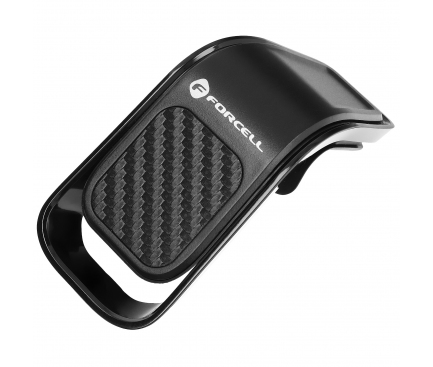 Suport Auto Magnetic Forcell CARBON B060, Air Vent, Negru