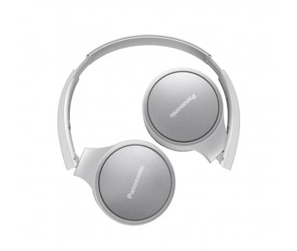 Handsfree Casti On-Ear Panasonic RP-HF300ME-W, Cu microfon, 3.5 mm, cu banda, Alb PNS00062