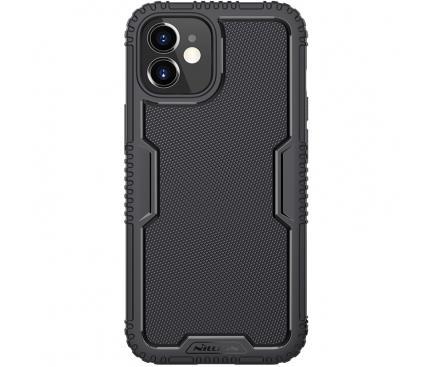 Husa TPU Nillkin Tactics pentru Apple iPhone 12 mini, Neagra