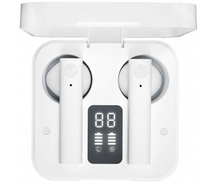 Handsfree Casti Bluetooth XO Design X2 TWS, SinglePoint, Alb